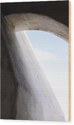 Scythe Wood Print by Viktor Savchenko