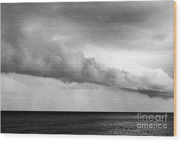 Sea And Clouds Wood Print by Yuri Santin