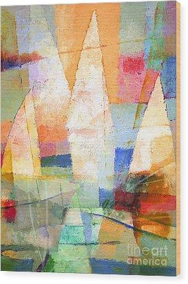 Sea Colors Wood Print by Lutz Baar