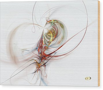 Sea Creature Wood Print