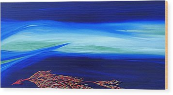 Sea Dragon Wood Print by Robert Nickologianis