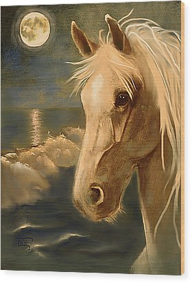 Wood Print featuring the painting Sea Dream by Terry Webb Harshman