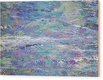 Sea Expressions Wood Print