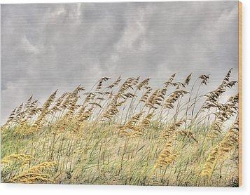 Bend Don't Break Wood Print by Don Mennig