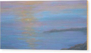 Sea Of Colors Wood Print