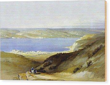 Sea Of Galilee Wood Print