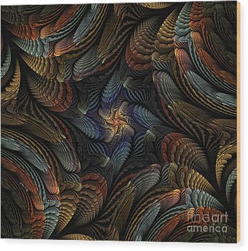Sea Shells Wood Print by Shari Nees
