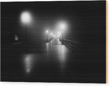 Seal Beach Pier - 2014 Wood Print