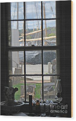 Seaport View Wood Print