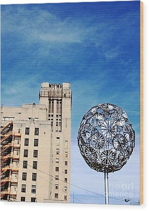 Sears Crosstown Memphis Wood Print by Lizi Beard-Ward