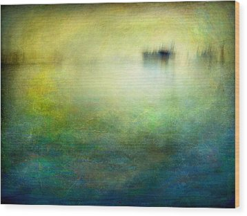 Seascape #19 -shipside- Wood Print