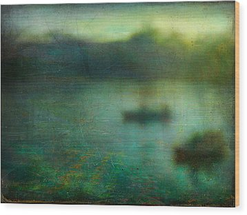 Seascape #23. Retreat Pond Wood Print
