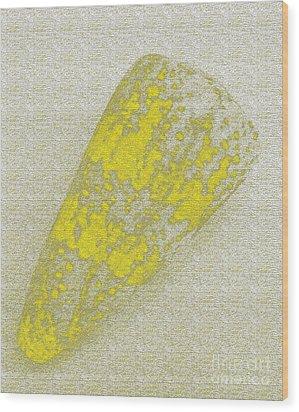 Seashell Wood Print by Carol Lynch