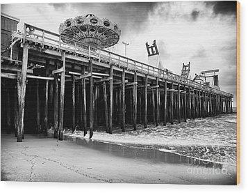 Seaside Pier Wood Print by John Rizzuto
