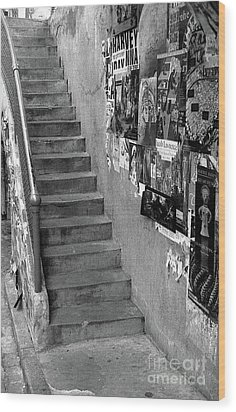 Seattle Stairs Wood Print