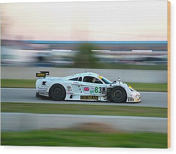 Sebring S7 Wood Print by Zachary Cox