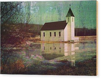 Secluded Sanctum  Wood Print