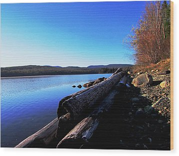 Second Shoreline Wood Print by Will Boutin Photos