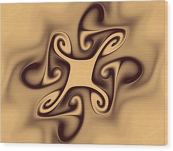 Secrecy Wood Print