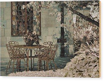 Wood Print featuring the photograph Secret Garden by Lauren Radke