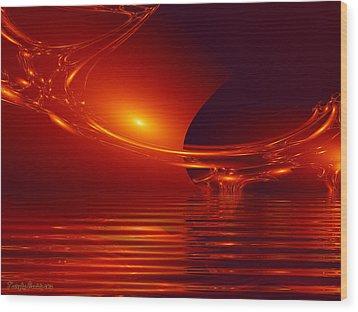Secret Passion.  Wood Print by Tautvydas Davainis