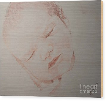 Secure Wood Print by Mary Lynne Powers