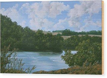 Sedan Lake Wood Print