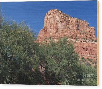 Wood Print featuring the photograph Sedona 2 by Tom Doud