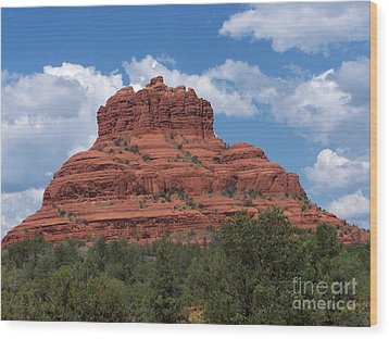 Wood Print featuring the photograph Sedona 5 by Tom Doud