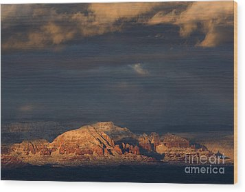 Sedona Arizona After The Storm Wood Print