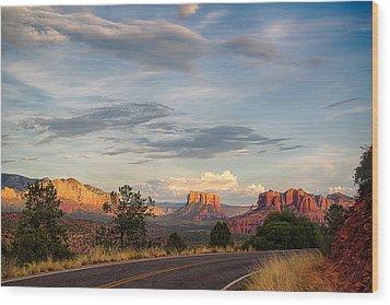 Sedona Arizona Allure Of The Red Rocks - American Desert Southwest Wood Print
