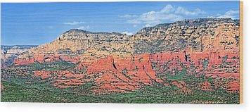 Sedona Landscape Wood Print