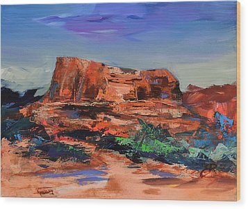 Sedona's Heart Wood Print