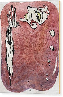 Seduction Seven Wood Print by Mark M  Mellon