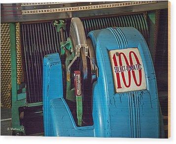 Seeburg Select-o-matic Jukebox Wood Print by Brian Wallace
