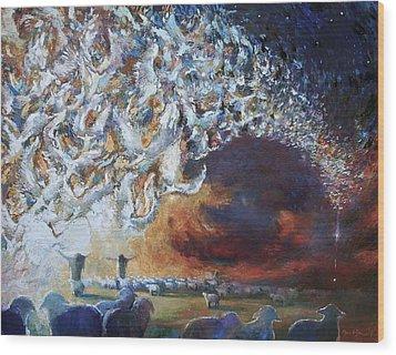 Seeing Shepherds Wood Print by Daniel Bonnell
