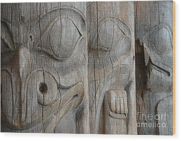 Seeing Through The Centuries Wood Print by Brian Boyle