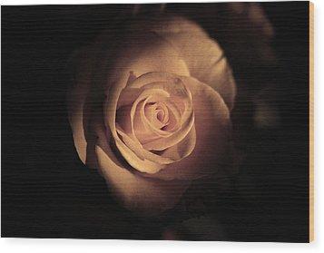 Seek The Light Wood Print by Kim Lagerhem