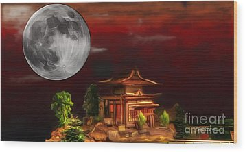 Seeking Wisdom Wood Print by Dan Stone