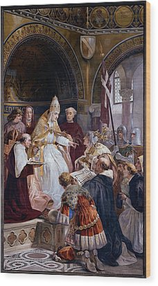 Seitz Ludovico, Pope Benedict Xi Wood Print by Everett