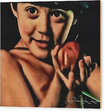 Sense Of Innocence  Wood Print