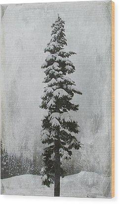 Sentinel Wood Print by Marilyn Wilson