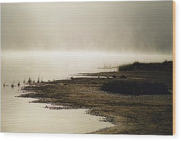 Wood Print featuring the photograph September Morning by David Porteus