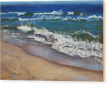 September On Nantucket Wood Print