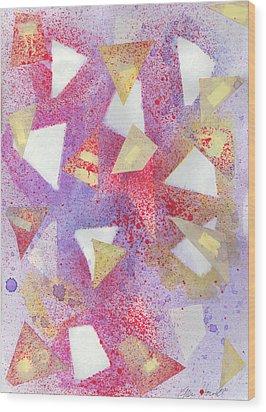 September Sixth Wood Print by Ellen Howell