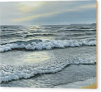 September Winds Wood Print by Michael Swanson
