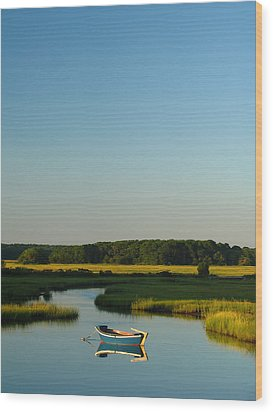 Serene Cape Cod Wood Print by Juergen Roth
