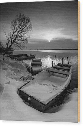 Serenity Wood Print by Davorin Mance
