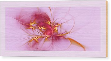 Serenity Wood Print by Gayle Odsather