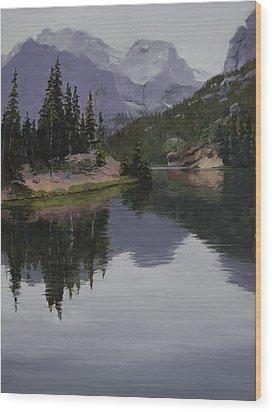 Serenity Wood Print